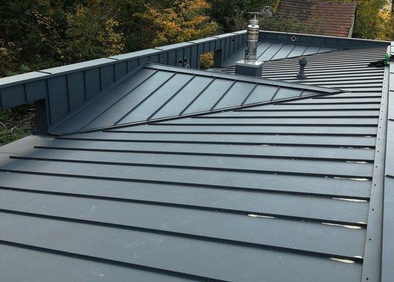 Zhotovení plechové střechy