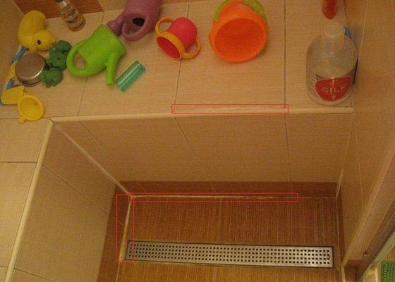 Presparovani sprchoveho koutu