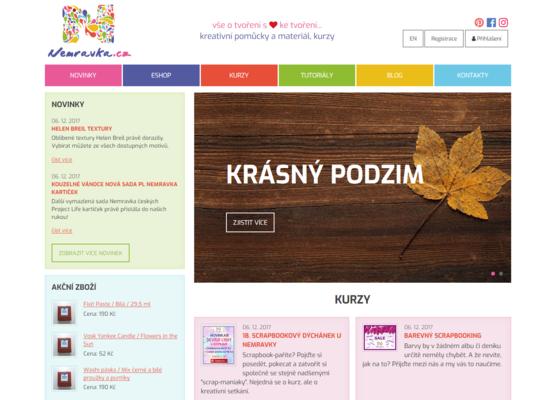 Internetový obchod Nemravka.cz