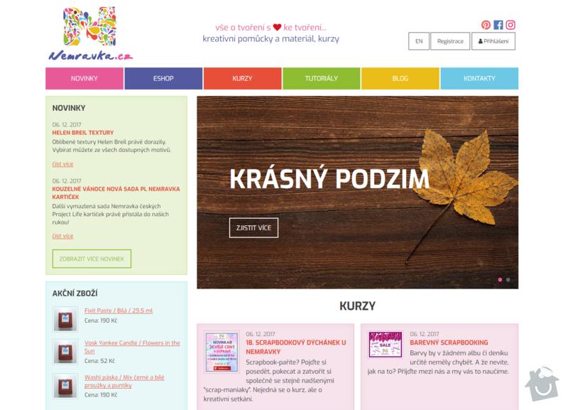 Internetový obchod Nemravka.cz: nemravka