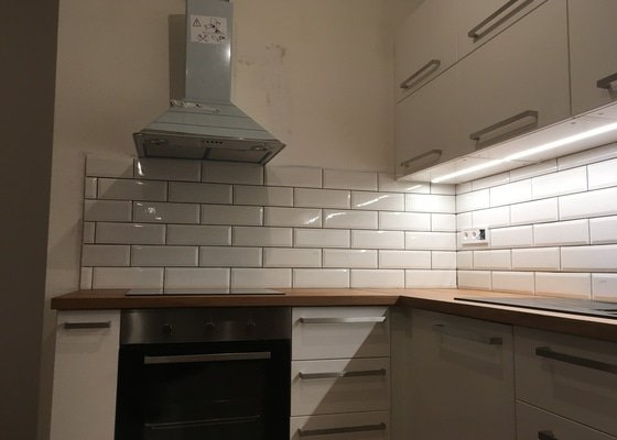 Obklady za kuchyňskou linku