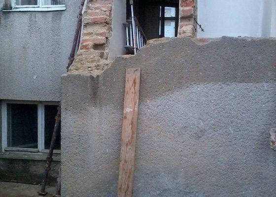 Rekonstrukce RD - hrubá stavba