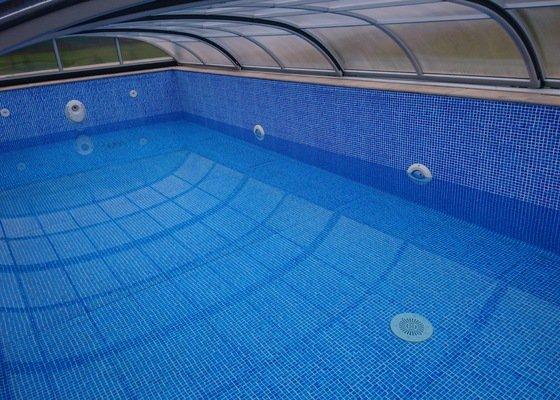 Skimmerový fóliový bazén