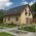 Design fasády, dům je odlišný (Gservis)