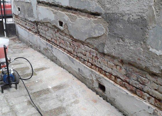 Oprava a sanace fasády