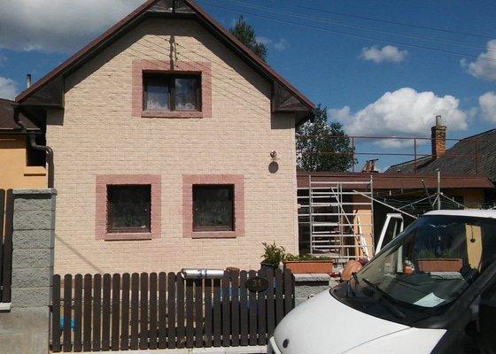 Větraná fasáda Novabrik RD Stříbrné Hory