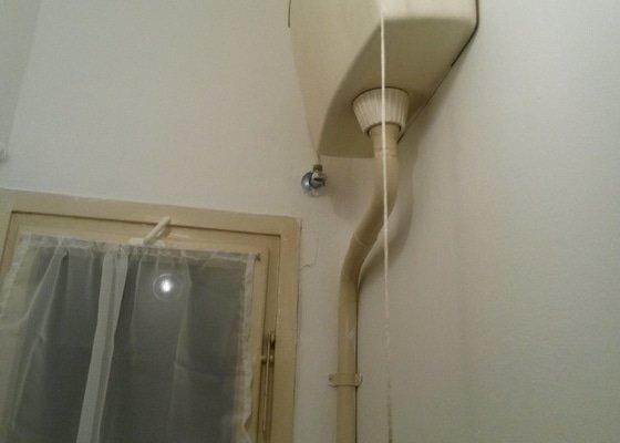 Servis plynového sporáku a karmy + oprava splachování na záchodě
