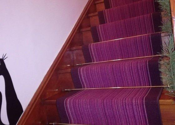 Renovace (výměna) dřevěného schodiště
