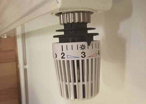 Montáž termostatických hlavic Honeywell