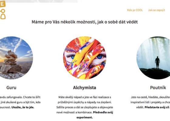 Webové stránky vzdělávacích aktivit