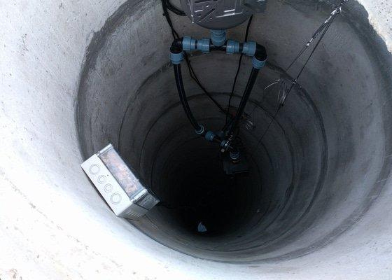 Čerpací technologie v kopané studni
