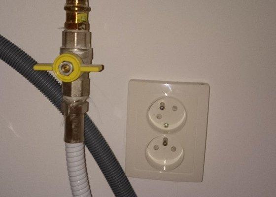 Připojení plynového sporáku