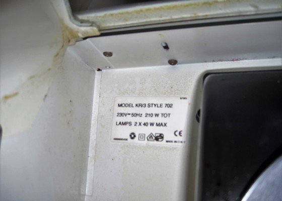 Oprava digestoře Gorenje K 702R-vypínač osvětlení