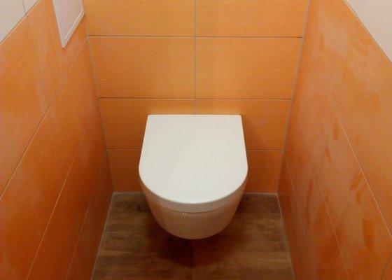 Rekonstrukce koupelny a WC - Brno