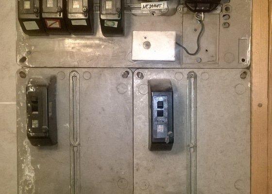 Výměna bytového rozvaděče eletřiny