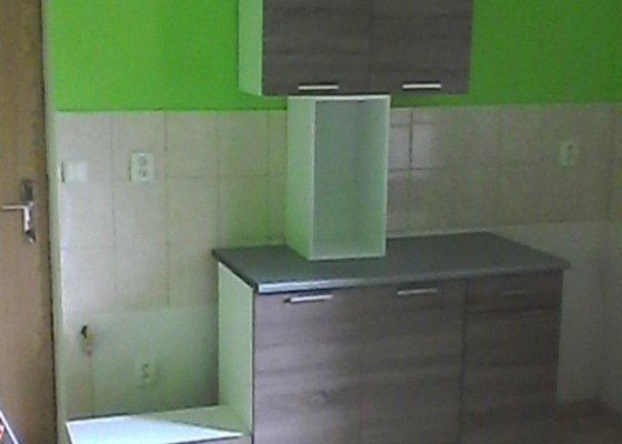 Dokončení montáže kuchyňské linky