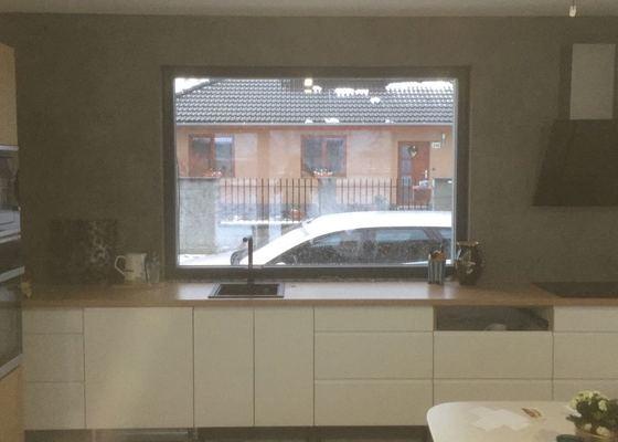 Betonová stěrka koupelna + kuchyň