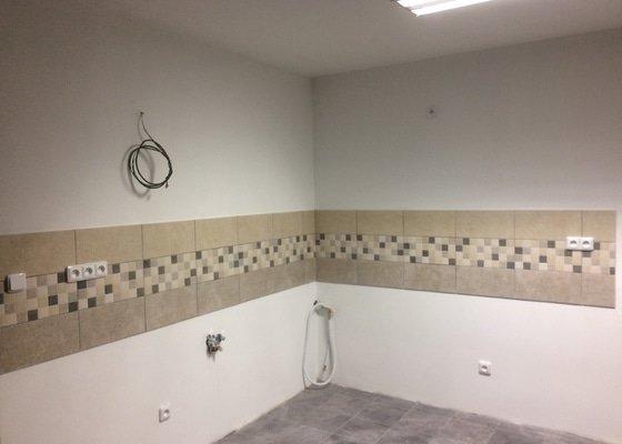 Rekonstrukce obývacího pokoje a kuchyně, 26m2