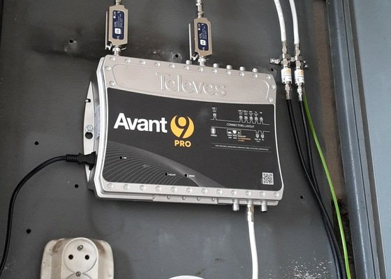 Instalace společné televizní antény