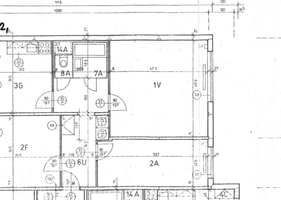 Rekonstrukce jádra v panelovém domě