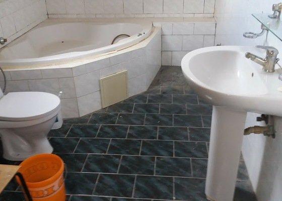 Rekonstrukce podkrovní koupelny