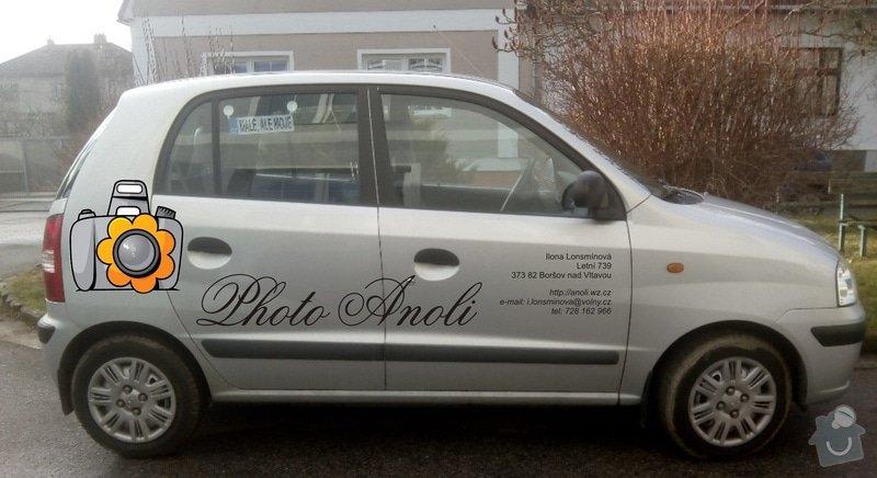 Polep aut: Reklama na automobil