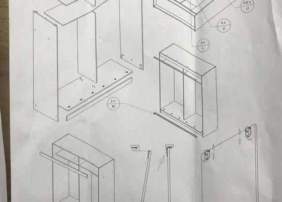 Složení skříně