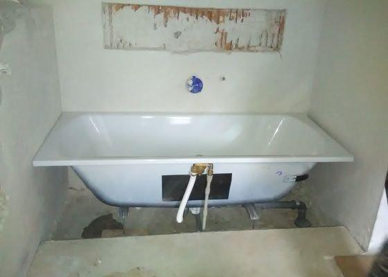 Zednické práce v koupelně