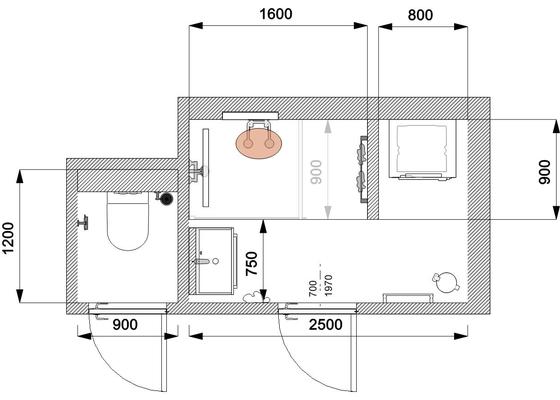 Rekonstrukce koupelna a zachod
