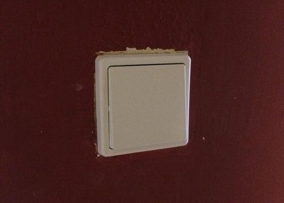Výměna vypínače (světlo v kuchyni)