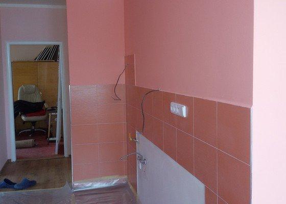 Poptávám rekonstrukci bytového jádra, s výměnou kuchyňské linky
