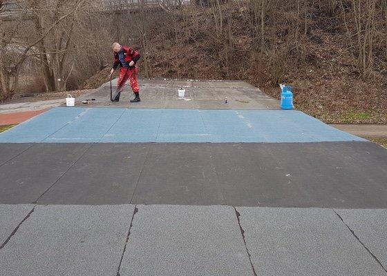 Oprava ploché střechy garáže