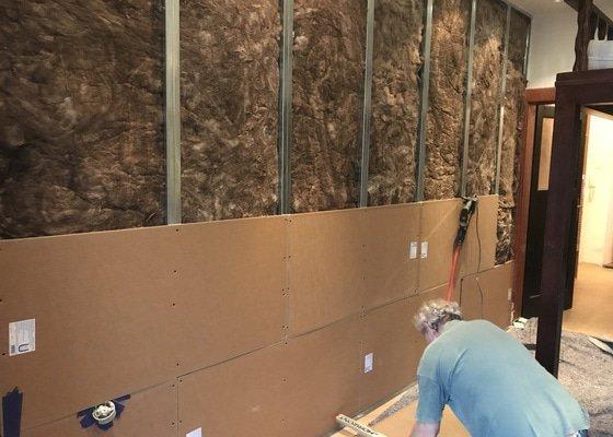 Odhlučnění stěny mezi byty