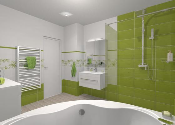 Nová koupelna v RD