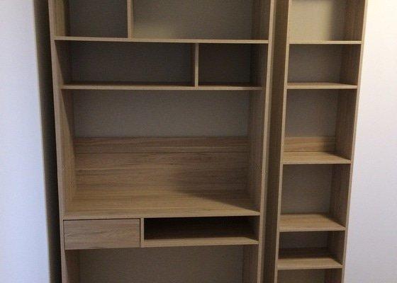 Složení objednaného nábytku