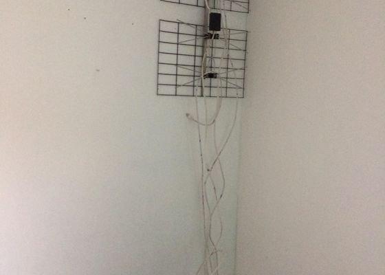 Montáž antény