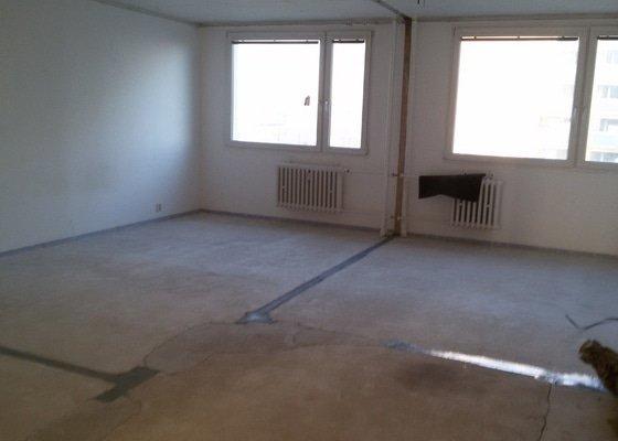 Broušení a vyrovnání betonové podlahy