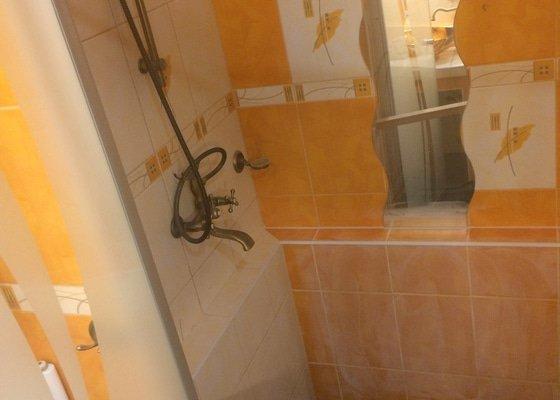 Sprchový kout + odpady