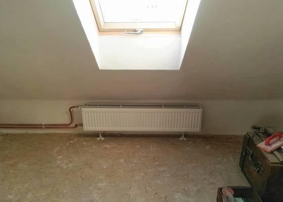 Zapojení radiatoru