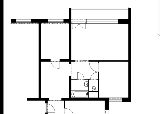 Rekonstrukce bytu v paneláku   URGENTNE