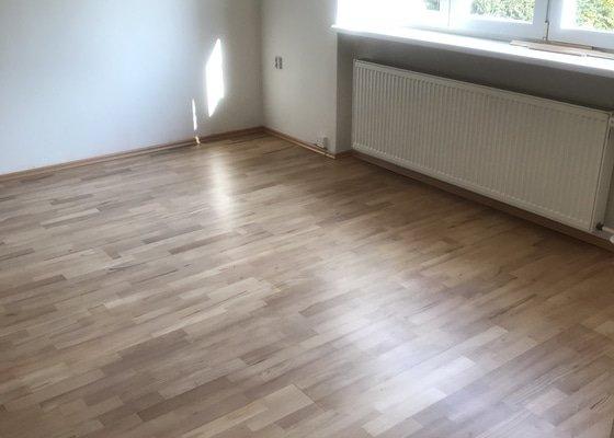 Renovace plovoucí podlahy 1 pokoj