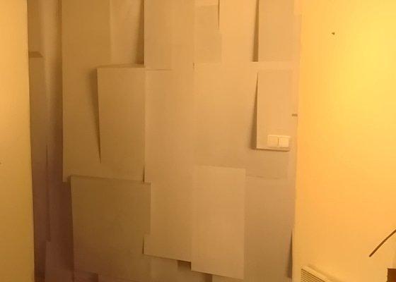 Nalepit tapetu rozměr cca 3,6 x 2,6m