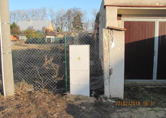 Zhotovení nové elektrické přípojky pro parcelu 197/236