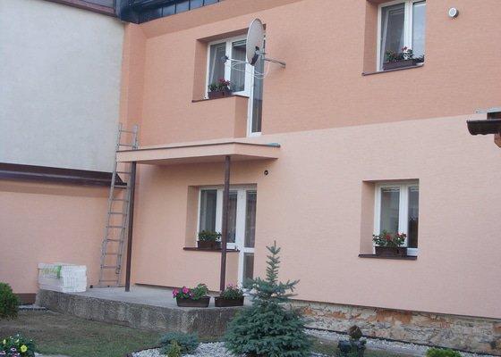 Zhotovení hliníkové zábradlí na balkon