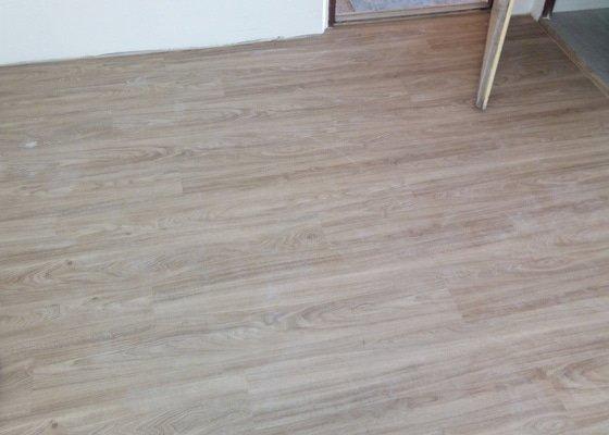 Pokládka vinylové podlahy (2 místnosti)