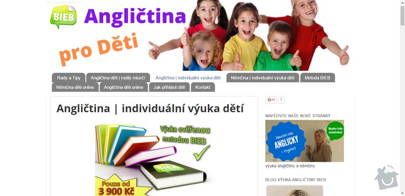 SEO optimalizace: SEO optimalizace - kompletní SEO optimalizace webu jazykové školy