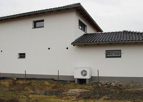 Elektroinstalace a vytápění RD Újezd u Průhonic