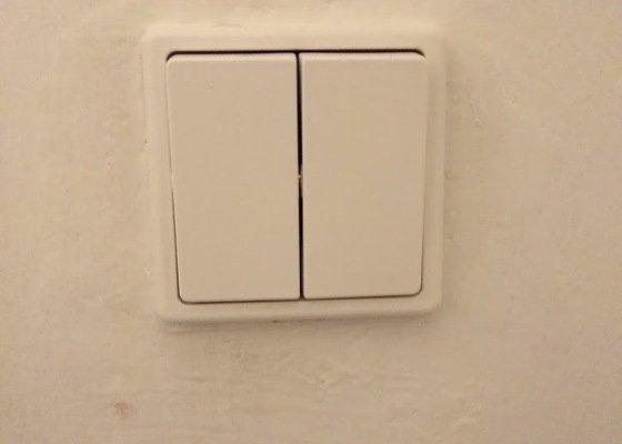 Oprava vypínače světla, oprava zavírání skříně