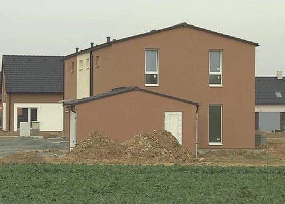 Výstavba celkově 18x RD v Brně