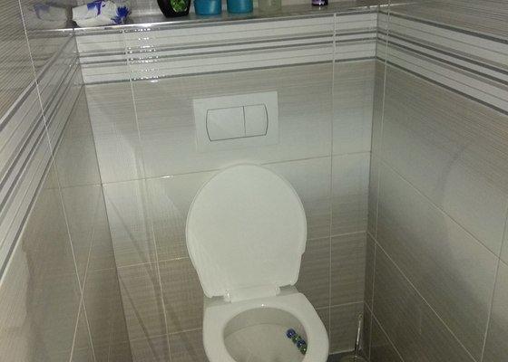 Rekonstrukce koupelny v rodinném domě